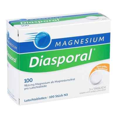 Magnesium Diasporal 100 Lutschtabletten  bei versandapo.de bestellen