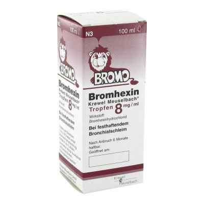Bromhexin Krewel Meuselbach 8mg/ml  bei versandapo.de bestellen