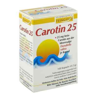 Carotin 25 Feingold Kapseln  bei versandapo.de bestellen
