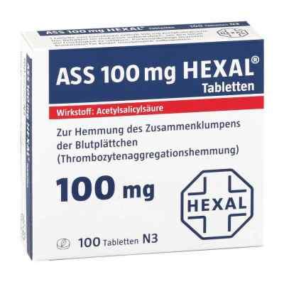 ASS 100mg HEXAL  bei versandapo.de bestellen