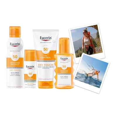 Eucerin Sun Sensitive Protect Spray Transparent LSF 50  bei versandapo.de bestellen