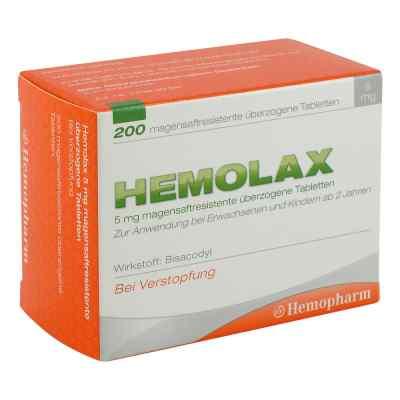 Hemolax 5mg  bei versandapo.de bestellen