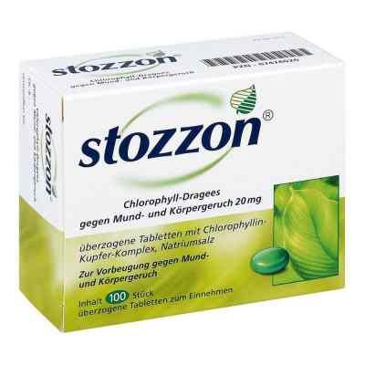 Stozzon Chlorophyll-Dragees gegen Mund- und Körpergeruch  bei versandapo.de bestellen