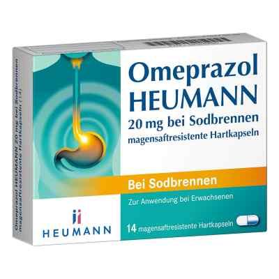 Omeprazol Heumann 20mg bei Sodbrennen  bei versandapo.de bestellen