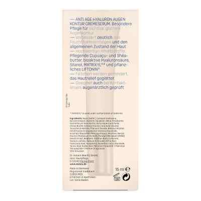 Eubos Sensitive Hyaluron Augen Kontur Cremeserum  bei versandapo.de bestellen