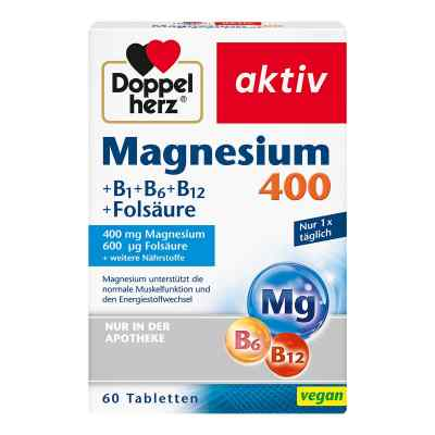 Doppelherz Magnesium 400 mg Tabletten  bei versandapo.de bestellen