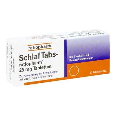 SchlafTabs-ratiopharm 25mg  bei versandapo.de bestellen
