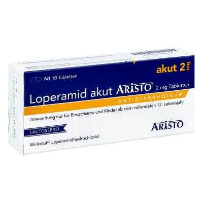 Loperamid akut Aristo 2mg  bei versandapo.de bestellen