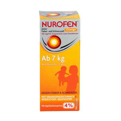 Nurofen Junior Fieber- und Schmerzsaft Orange 40mg/ml  bei versandapo.de bestellen