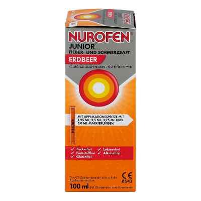 NUROFEN Junior Fieber- & Schmerzsaft Erdbeer  bei versandapo.de bestellen
