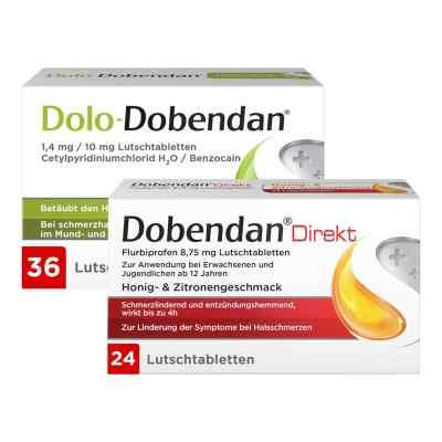 Dolo-Dobendan 36 stk + Dobendan Direkt Flurbiprofen 24 stk  bei versandapo.de bestellen