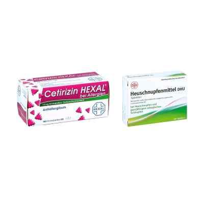 Heuschnupfenmittel DHU Tabletten - Cetirizin HEXAL  bei versandapo.de bestellen