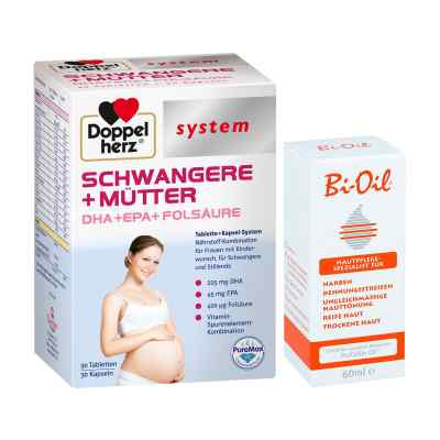 Doppelherz Schwangere  Mütter mit Bi Oil  bei versandapo.de bestellen