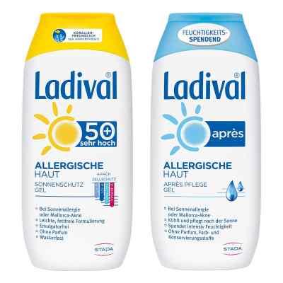Ladival allergische Haut Gel LSF 50 und Apres Gel  bei versandapo.de bestellen