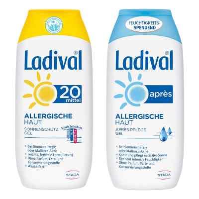 Ladival allergische Haut Gel LSF 20 und Apres Gel  bei versandapo.de bestellen