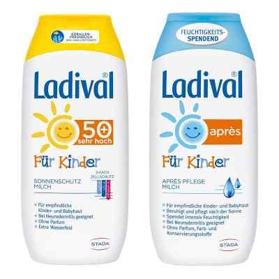 Ladival Kinder Sonnenmilch Lsf 50 und Apres Lotion  bei versandapo.de bestellen