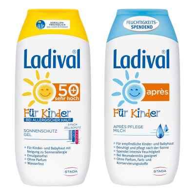 Ladival Kinder Sonnengel allergische Haut und Apres Lotion  bei versandapo.de bestellen