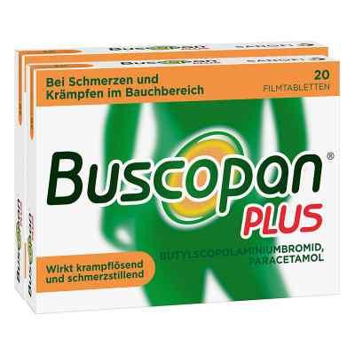Buscopan PLUS Filmtabletten Doppelpack  bei versandapo.de bestellen