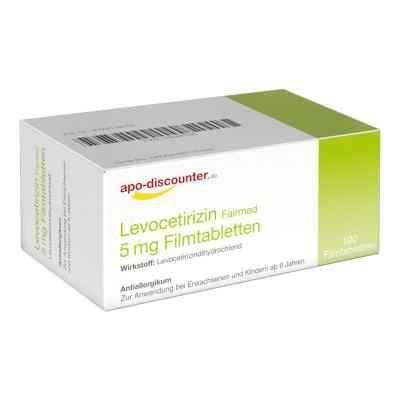 Levocetirizin 5 mg Filmtabletten von apo-discounter - bei Allerg  bei versandapo.de bestellen