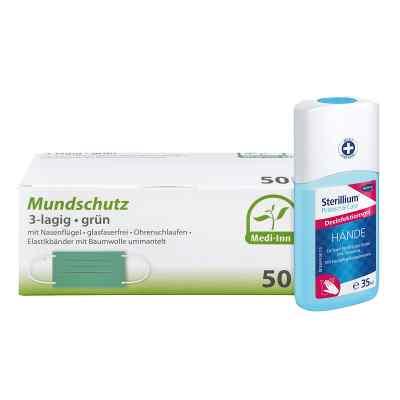 Mundschutz Maske und Sterillium Protect Care Händegel  bei versandapo.de bestellen