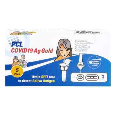 COV04S PCL COVID19 Ag Gold Speicheltest  bei versandapo.de bestellen