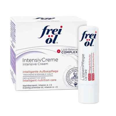 Frei Öl Intensivcreme (50 ml) + Frei Öl Lippenpflege gratis  bei versandapo.de bestellen