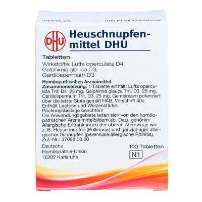 Heuschnupfenmittel Dhu Tabletten  bei versandapo.de bestellen