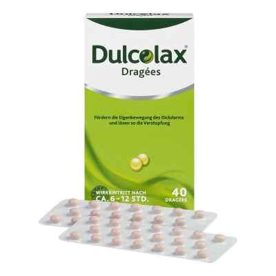 Dulcolax Dragées bei Verstopfung mit Bisacodyl  bei versandapo.de bestellen