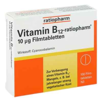 Vitamin B12 ratiopharm 10 [my]g Filmtabletten  bei versandapo.de bestellen