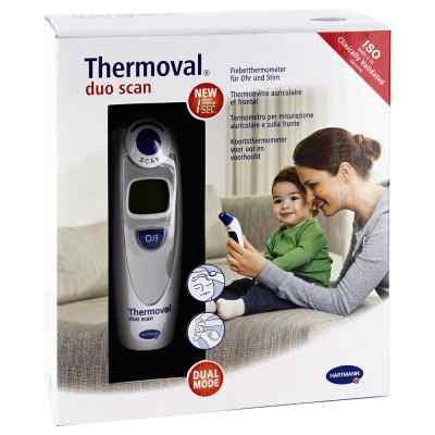 Thermoval duo scan Fieberthermometer für Ohr+Stirn  bei versandapo.de bestellen