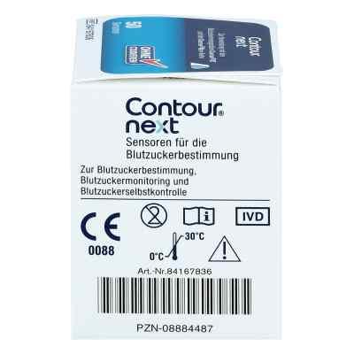 Contour next Sensoren Teststreifen  bei versandapo.de bestellen