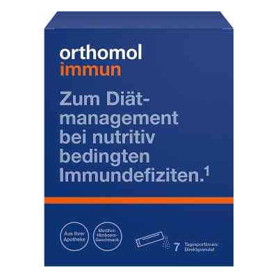 Orthomol Immun Direktgranulat Himbeer/menthol  bei versandapo.de bestellen