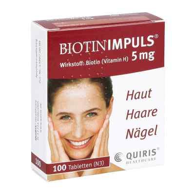 Biotin Impuls 5 mg Tabletten  bei versandapo.de bestellen