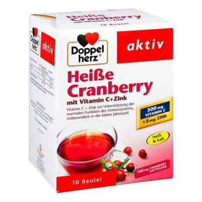 Doppelherz Heisse Cranberry mit Vitamin C +Zink Granulat  bei versandapo.de bestellen