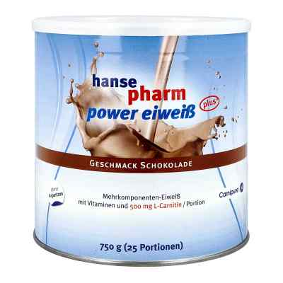 Hansepharm Power Eiweiss plus Schoko Pulver  bei versandapo.de bestellen