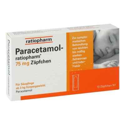 Paracetamol-ratiopharm 75mg  bei versandapo.de bestellen