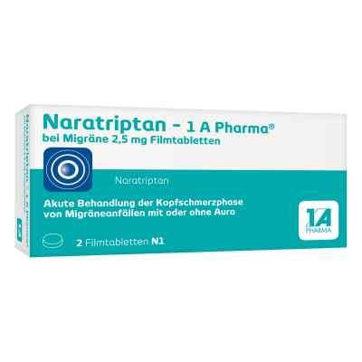 Naratriptan-1A Pharma bei Migräne 2,5mg  bei versandapo.de bestellen