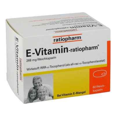 E Vitamin ratiopharm Kapseln  bei versandapo.de bestellen