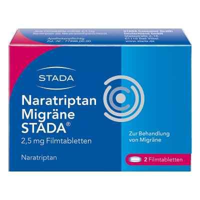 Naratriptan Migräne STADA 2,5mg  bei versandapo.de bestellen