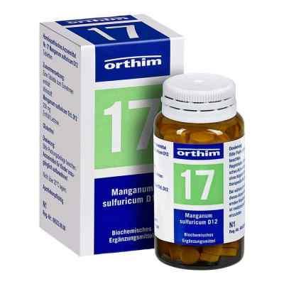 Biochemie Orthim 17 Manganum sulfuricum D 12 Tabletten   bei versandapo.de bestellen