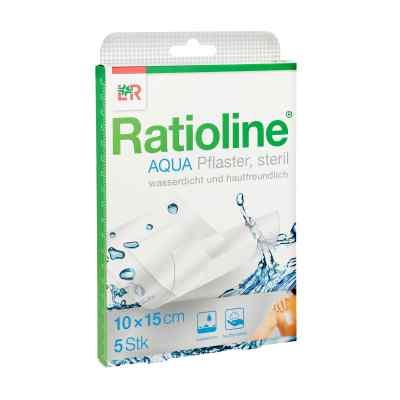 Ratioline aqua Duschpflaster Plus 10x15 cm steril  bei versandapo.de bestellen