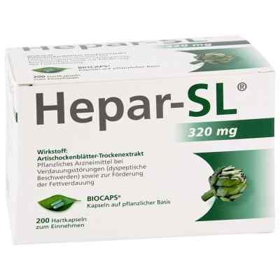 Hepar Sl 320 mg Hartkapseln  bei versandapo.de bestellen