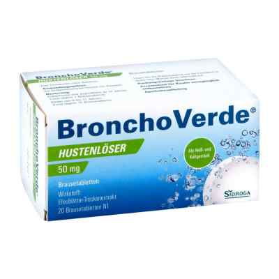 Bronchoverde Hustenlöser 50 mg Brausetabletten  bei versandapo.de bestellen