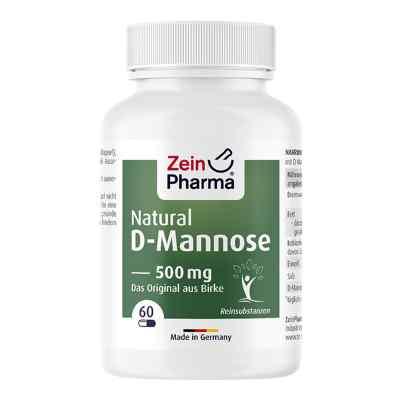 Natural D-mannose 500 mg Kapseln  bei versandapo.de bestellen
