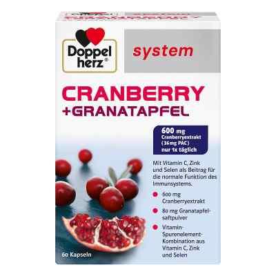 Doppelherz Cranberry + Granatapfel system Kapseln  bei versandapo.de bestellen