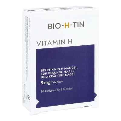 Bio-h-tin Vitamin H 5 mg für 6 Monate Tabletten  bei versandapo.de bestellen