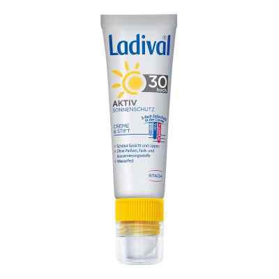 Ladival Aktiv Sonnenschutz für Gesicht und Lipp. Lsf30  bei versandapo.de bestellen