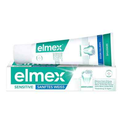 Elmex Sensitive Sanftes Weiss Zahnpasta  bei versandapo.de bestellen