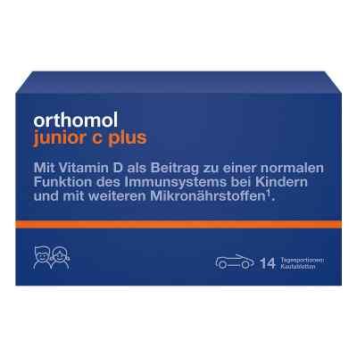 Orthomol Junior C plus Kautabletten  bei versandapo.de bestellen