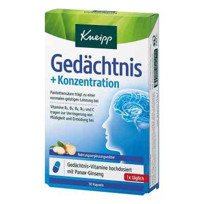 Kneipp Gedächtnis + Konzentration Kapseln  bei versandapo.de bestellen
